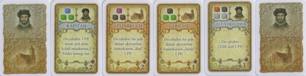 a set of character cards